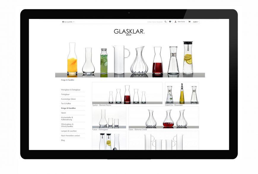 GLASKLAR – ONLINE SHOP