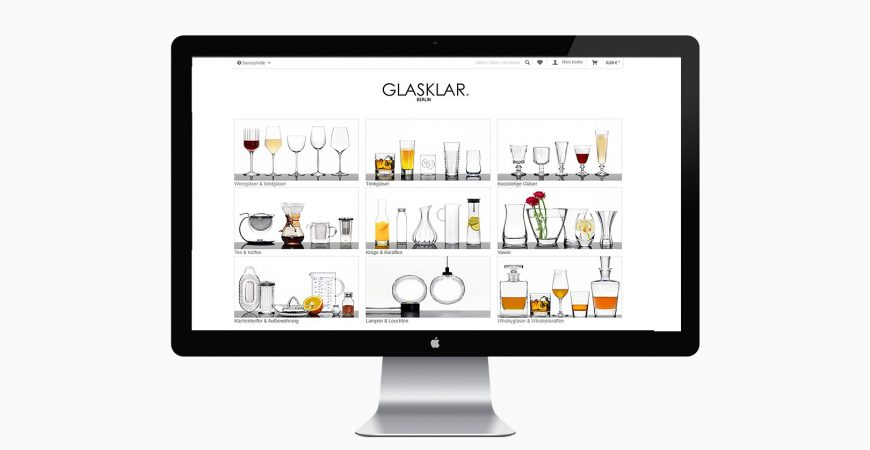 GLASKLAR – ONLINE SHOP