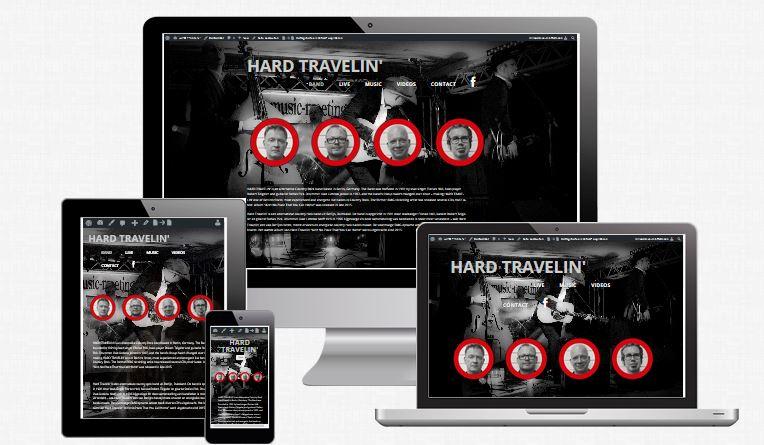 Hardtravelin' – Band